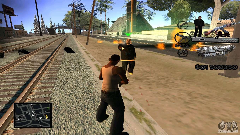 C Hud Russian Mafia By Luigie For Gta San Andreas