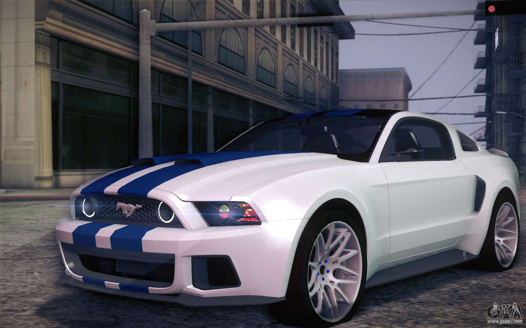 Ford Mustang 2013 Need For Speed Movie Edition For Gta San Andreas