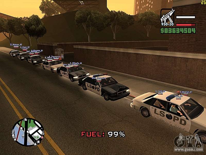 gta san andreas multiplayer 0.3x