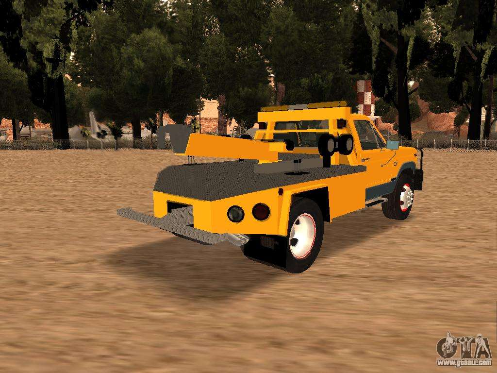 Ford f 250 for gta san andreas back left view