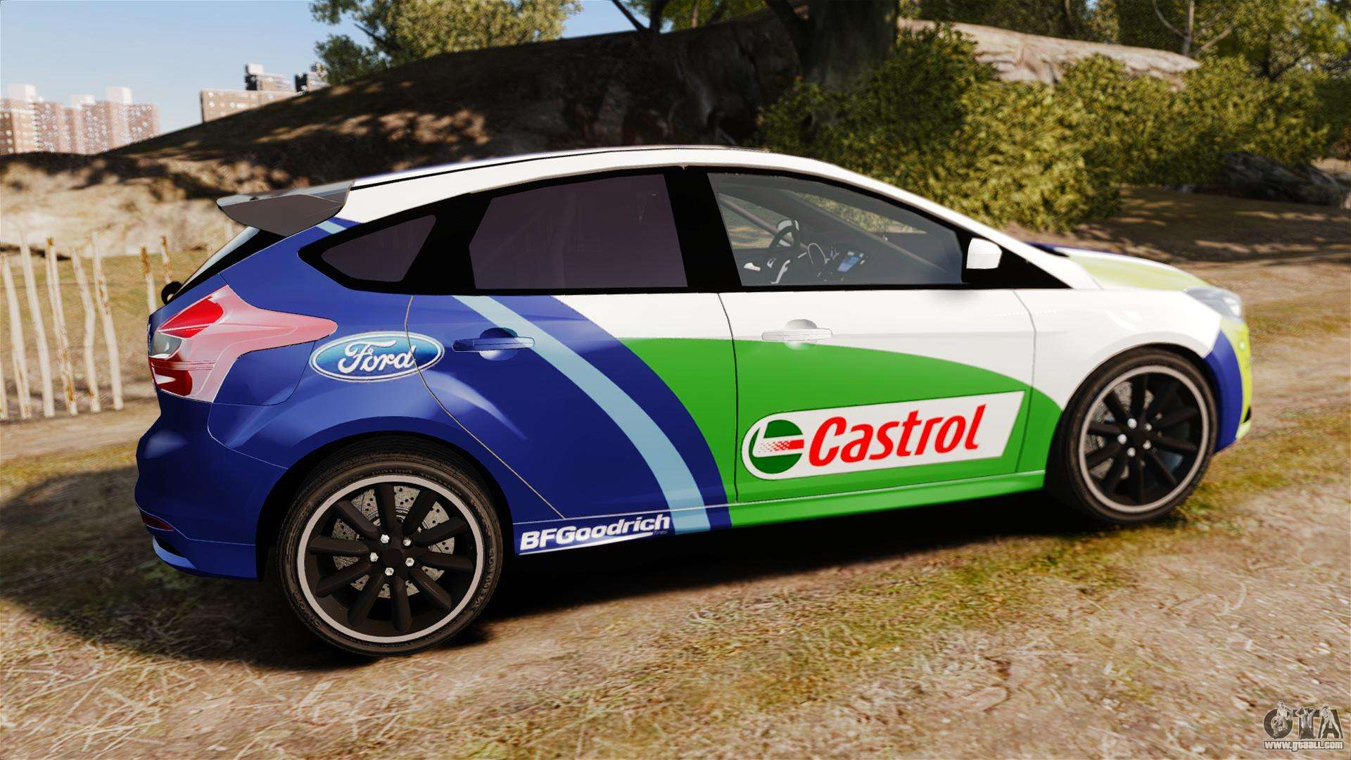 Ford Focus ST Rally for GTA 4 left view