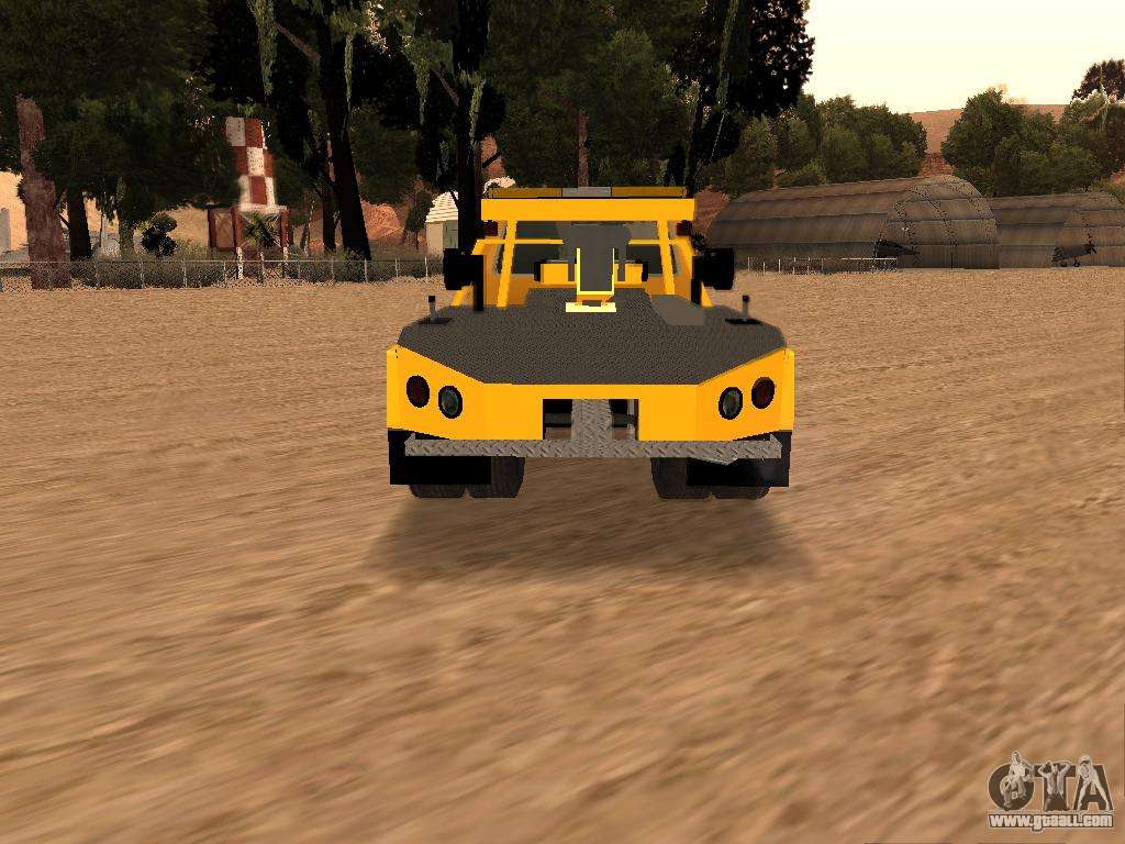 Ford f 250 for gta san andreas right view