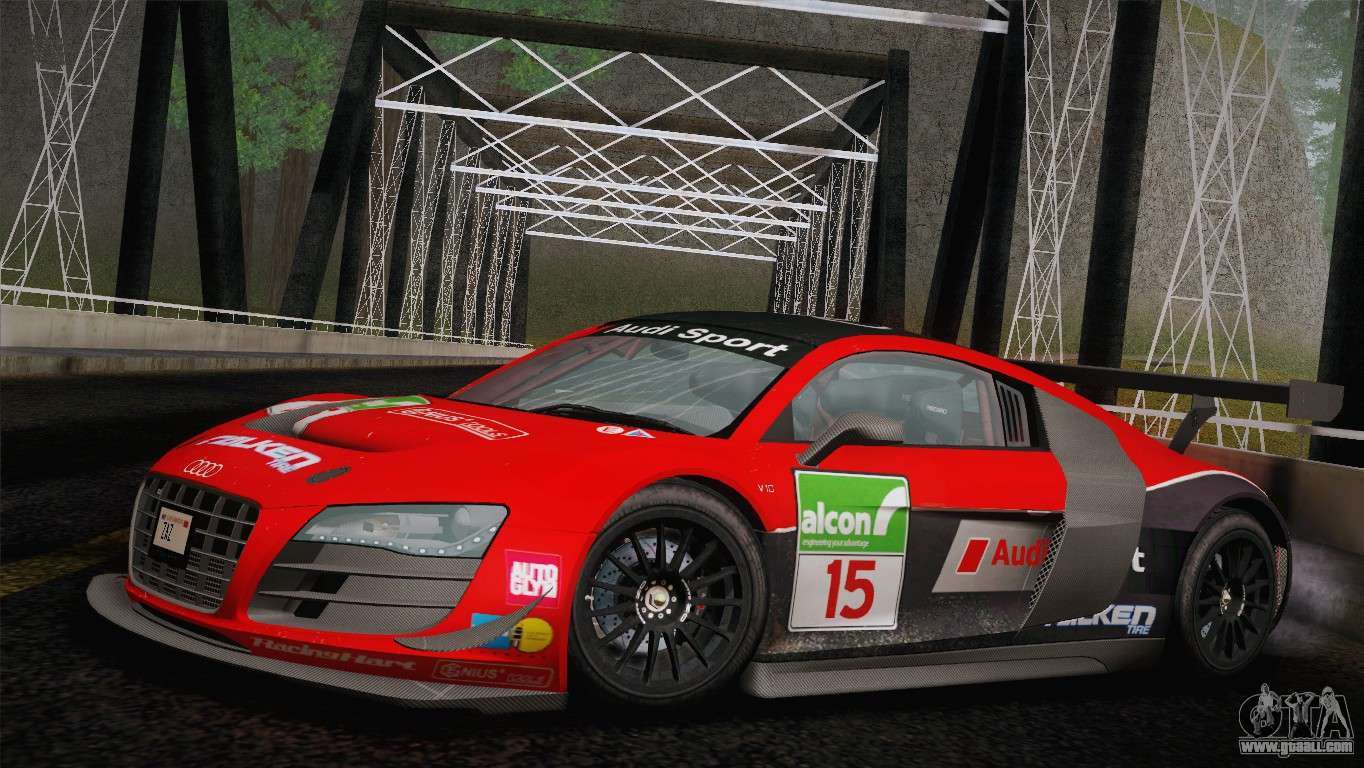 Audi R8 Lms Ultra Old Vinyls For Gta San Andreas