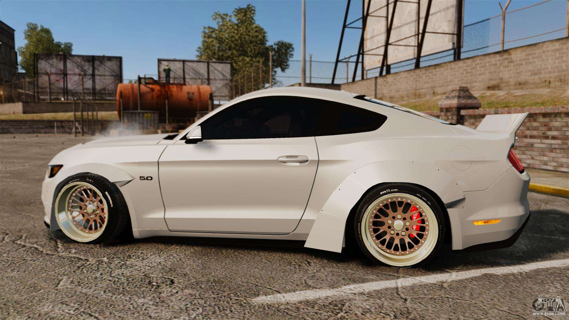 Mclaren Kit Car >> Ford Mustang 2015 Rocket Bunny TKF for GTA 4
