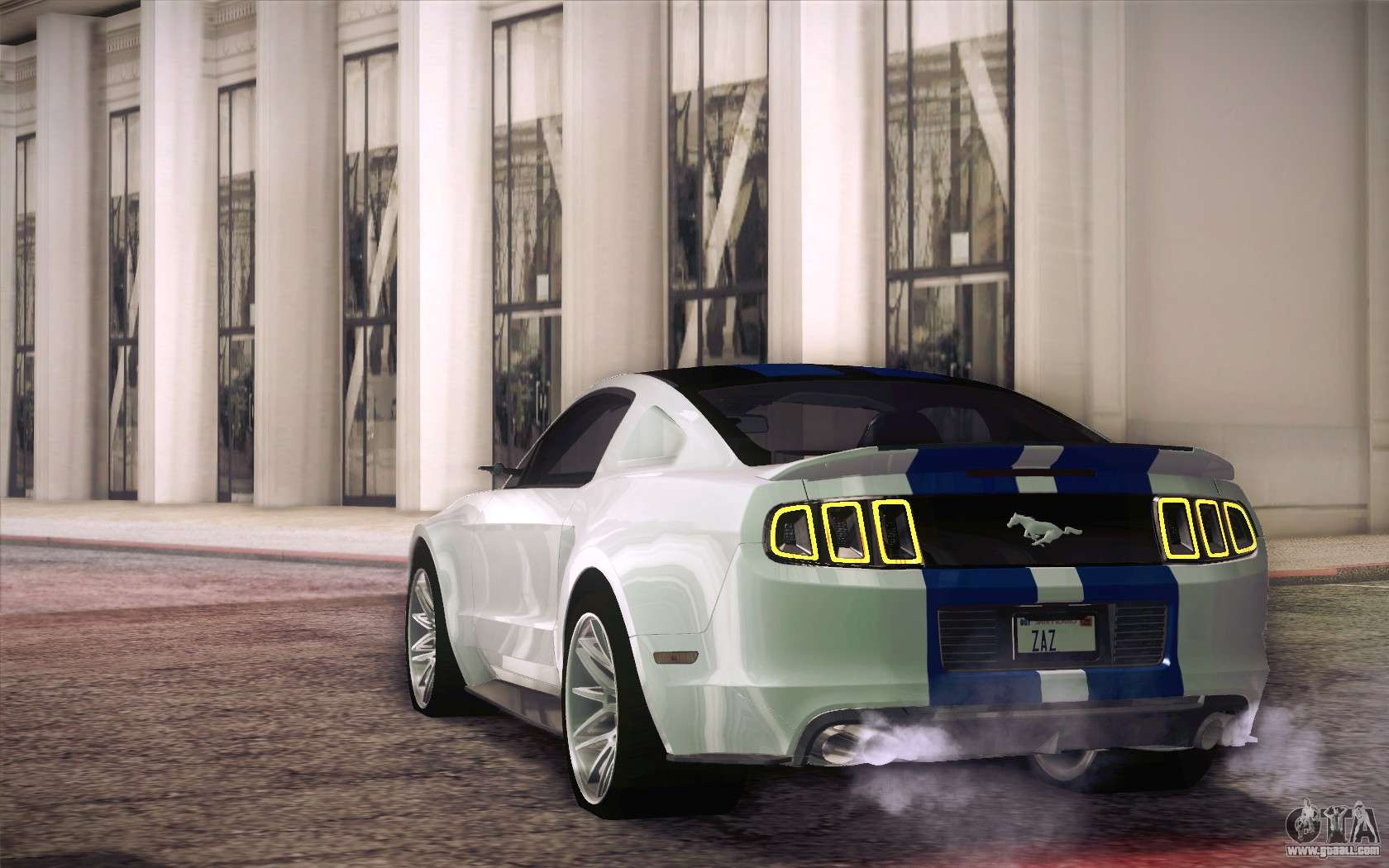 Ford Mustang 2013 Need For Speed Movie Edition For GTA