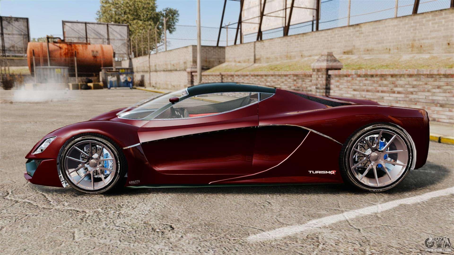 Turismo Car: GTA V Grotti Turismo R V2.0 For GTA 4
