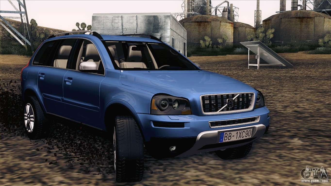 Volvo Xc90 V8 Sport >> Volvo XC90 2009 for GTA San Andreas