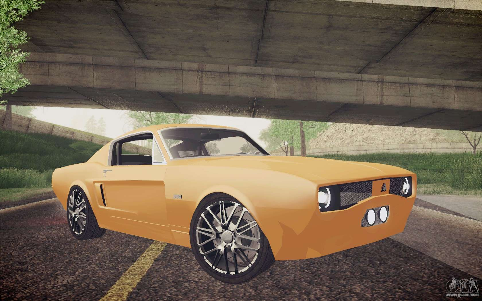 Equus Bass 770 For Gta San Andreas