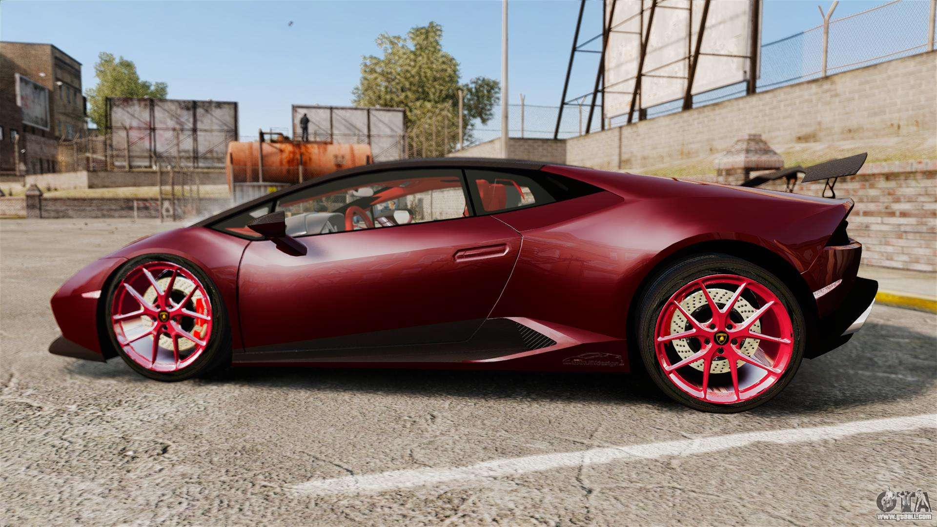 Lamborghini Huracan 2014 Oakley Tuning For Gta 4