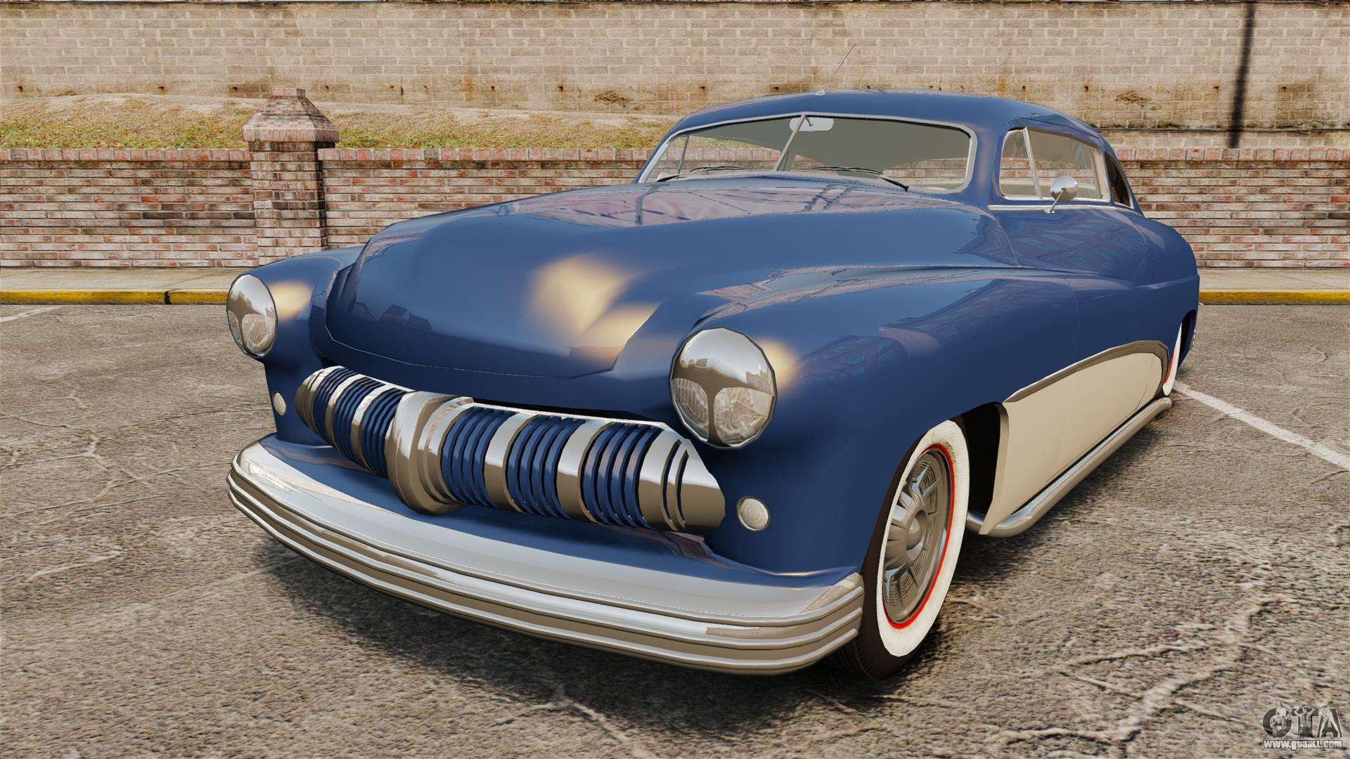 mercury lead sled custom 1949 for gta 4