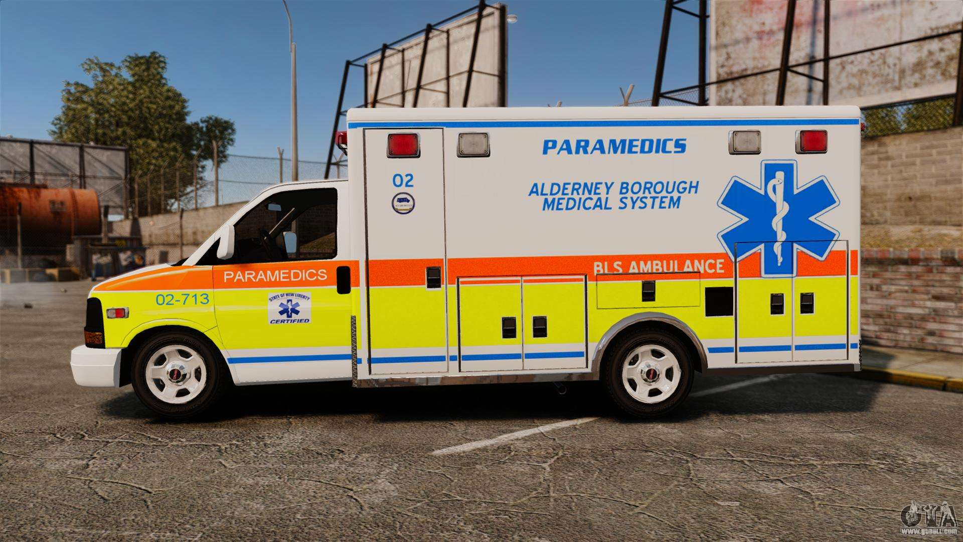GMC Savana 2005 Ambulance [ELS] for GTA 4