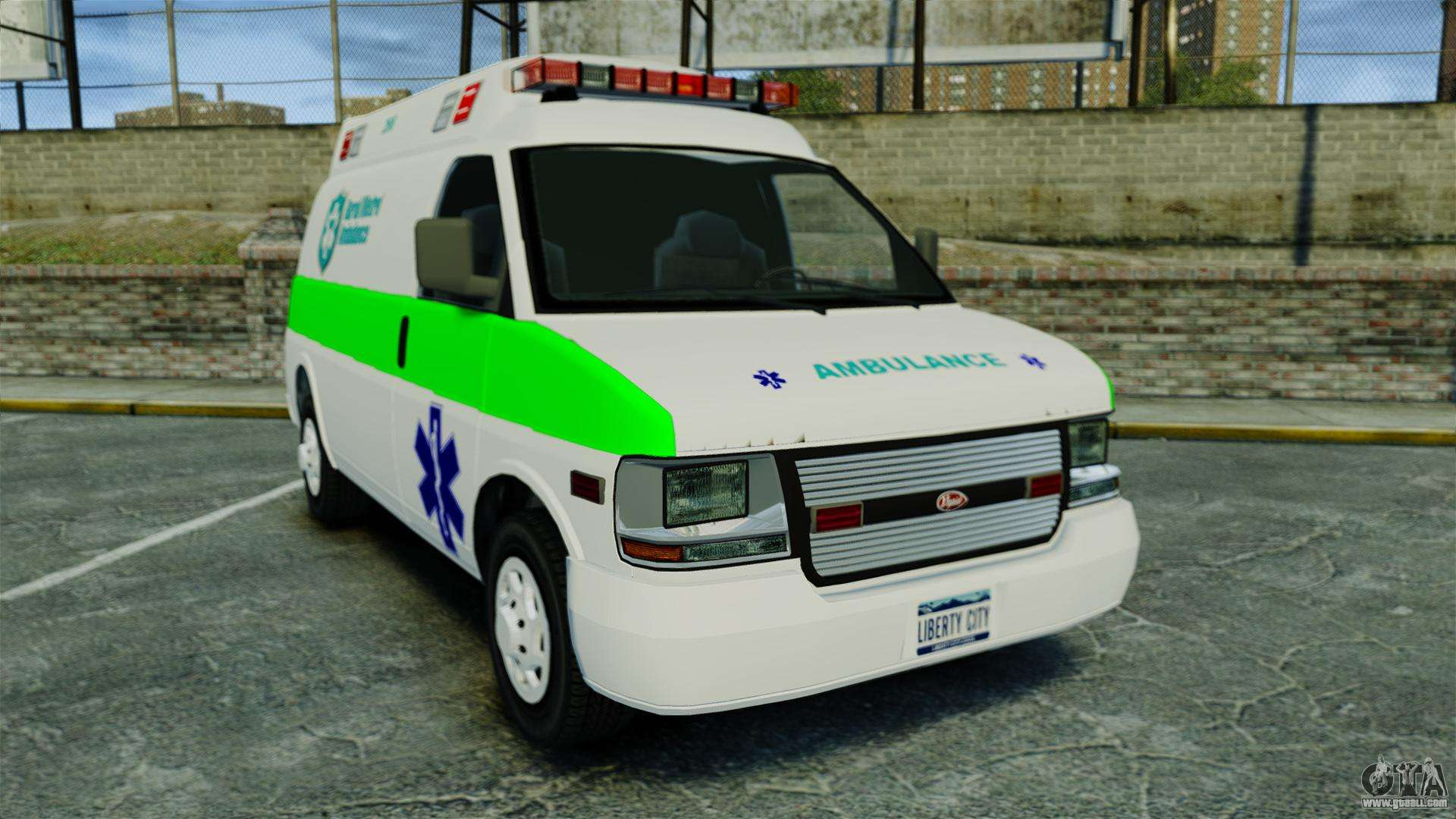 Vapid Speedo Rural Metro EMS [ELS] for GTA 4
