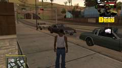 C-HUD Snoop Dogg for GTA San Andreas