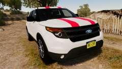 Ford Explorer Sport 2014 for GTA 4