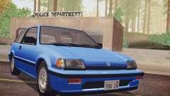 Honda Civic S 1986 IVF for GTA San Andreas