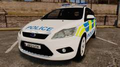 Ford Focus Estate Essex Police [ELS] for GTA 4