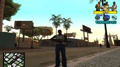 Vagos C-Hud for GTA San Andreas