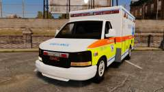 GMC Savana 2005 Ambulance [ELS]