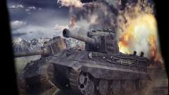 Menu World of Tanks