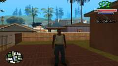 C-HUD Gangster by NickQuest for GTA San Andreas