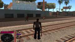 C-HUD by Andy Cardozo for GTA San Andreas