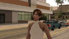 Girl in white dress for GTA San Andreas