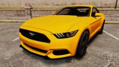 Ford Mustang GT 2015 v2.0 for GTA 4