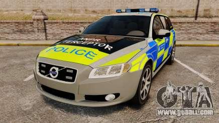 Volvo V70 ANPR Interceptor [ELS] for GTA 4