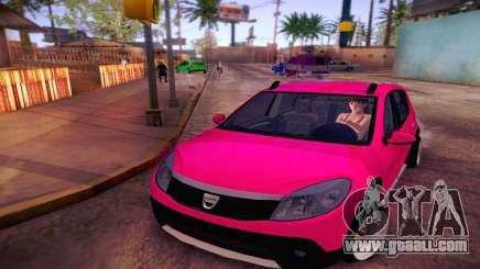 Dacia Sandero for GTA San Andreas
