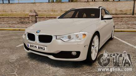 BMW 330d Touring (F31) 2014 Unmarked Police ELS for GTA 4