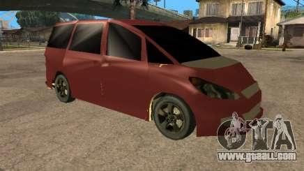 Toyota Estima 2wd for GTA San Andreas