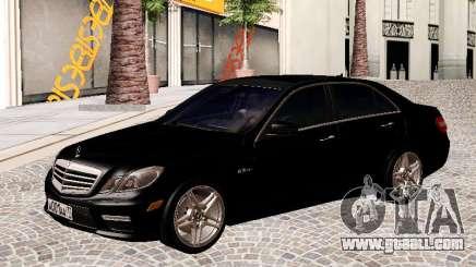 Mercedes-Benz E63 AMG седан for GTA San Andreas
