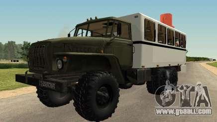 Ural 32551-0011 Watch for GTA San Andreas
