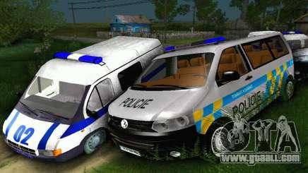 Volkswagen Transporter Policie for GTA San Andreas