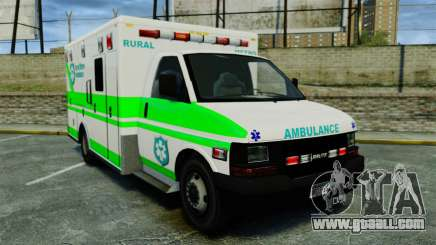 Brute Rural Metro EMS [ELS] for GTA 4