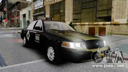 Ford Crown Victoria Cab for GTA 4