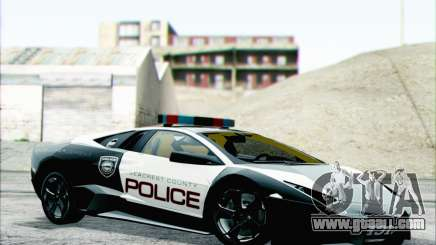 Lamborghini Reventon Police Car for GTA San Andreas