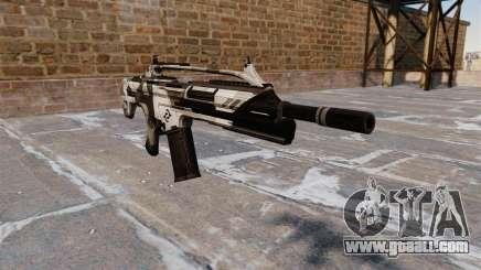 Игра Grand Theft Auto 4. Оружие для GTA 4. Автомат Crysis 2 v2.0 д