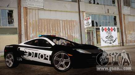McLaren MP4-12C Police Car for GTA San Andreas