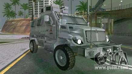 MRAP Mèxico Marine for GTA San Andreas
