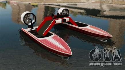 Catamaran-Jetmax Aero- for GTA 4