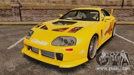 Toyota Supra 1994 (Mark IV) Slap Jack for GTA 4