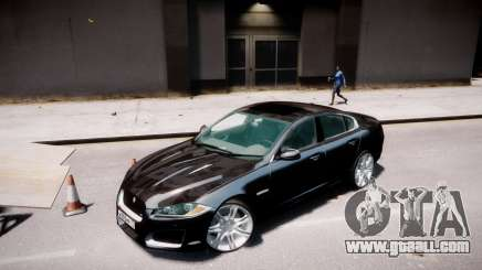 Jaguar XF-R 2012 v1.2 for GTA 4