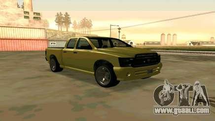 GTA V Bison Version 2 FIXED for GTA San Andreas