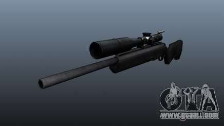 The Steyr Scout sniper rifle for GTA 4
