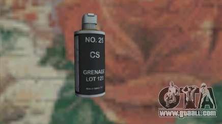 Gas grenade for GTA San Andreas