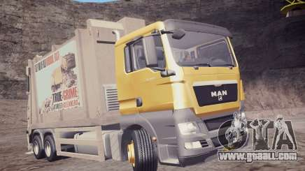 MAN TGS 18.320 Trash Truck for GTA San Andreas