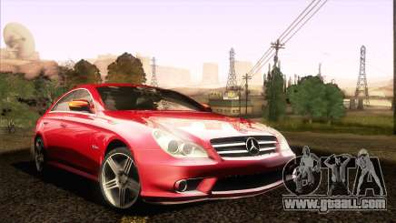 Mercedes-Benz CLS 63 AMG 2008 for GTA San Andreas