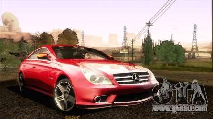 Mercedes-Benz CLS 63 AMG 2008 for GTA San Andreas