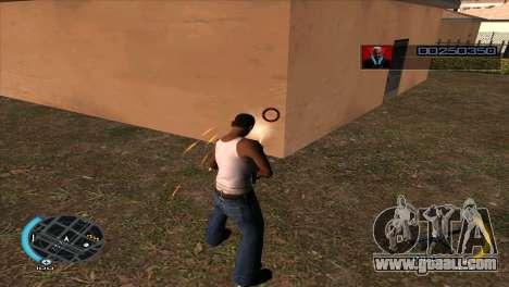 C-HUD Hitman Absolution for GTA San Andreas forth screenshot